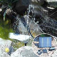 Садовый насос на солнечной энергии
